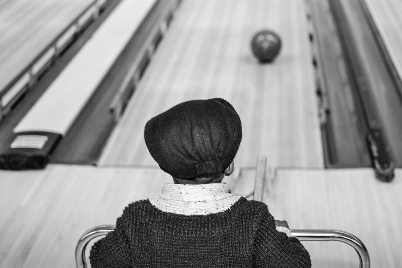 Beautiful stock photos of bowling, Bowling Alley, Bowling Ball, Boys, Cap