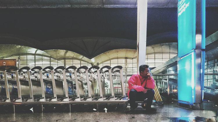 Trolley boy Airport KualaNamuAirport Trolley