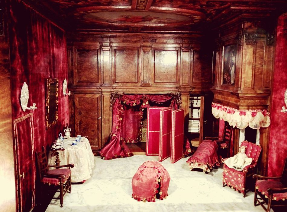 Red Indoors  Architecture Antique Old Collection Miniature Old Era Intricate Museum Revival