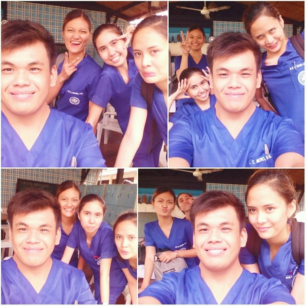 After duty... Hahaha Haggard Studentnurse SUCN SUMC