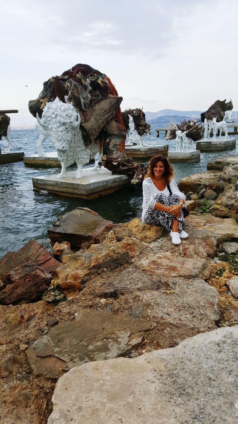 Istanbul Büyükada Great Atmosphere EyeEm Best Shots Lovely Atmosphere I Was There Bienal2015 Saltwater Heykel Sanatheryerde