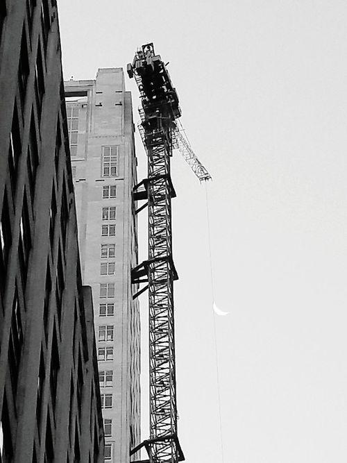 Building City Built Structure Crane