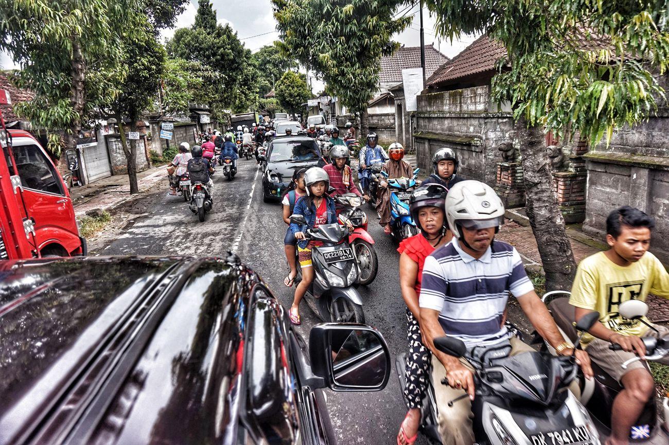 Bali Ubud Traffic