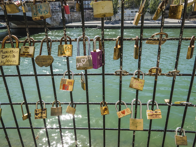 Backgrounds Bonding Bridge - Man Made Structure Chain Close-up Day Faith Golf Club Hanging Hope Hope - Concept Lock Love Love Lock Metal Metal Grate No People Outdoors Padlock Protection Railing Safe Safety Security Water