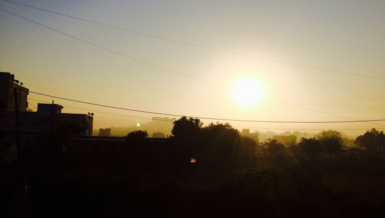 Exploring Style Cable Power Line  IPhoneography Beauty In Nature New Talent This Week Architecture Shootermagazine The Week On EyeEem Sunlight EyeEmBestPics Welcomeweekly its magic there are two rising sun ☀️ ☀️