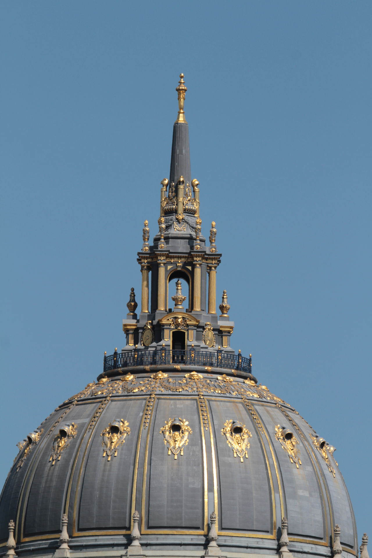 Architecture Cathedral City Cityscape Clear Sky Cultures Day Dome Gold Colored Historic No People On Top Outdoors Past Times  Sky Top