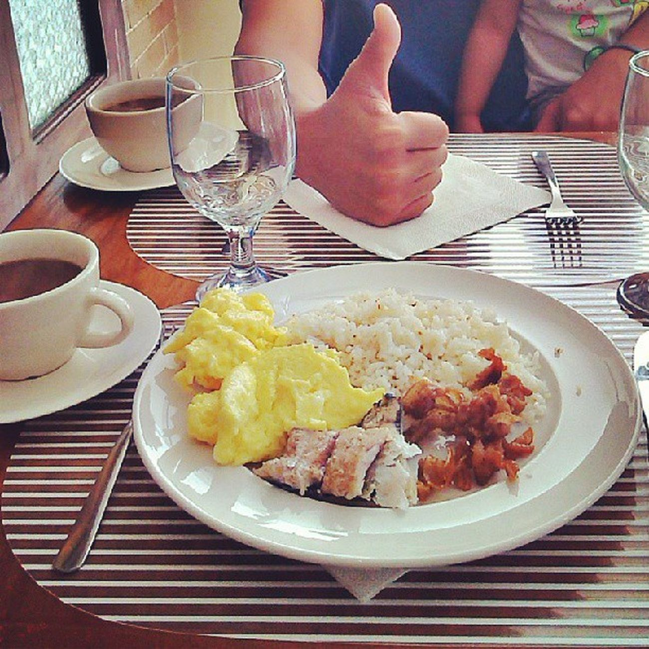 good Morning ! Let's eat Breakfast .. :) @wellcome hotel Food Is 💕