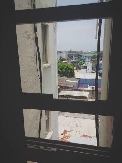 Photography Vintage Beautiful Mexico Life Veracruz Coatzacoalcos Veracruz, México Summer Taking Photos Building Houses City Window