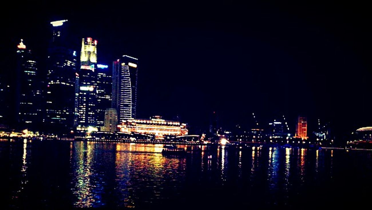 City Lights City View  City Landscape