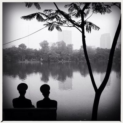 blackandwhite in Hà Nội by Richard Koci  Hernandez