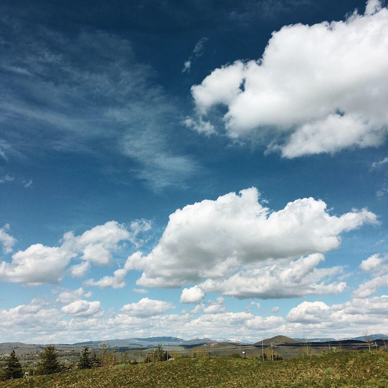 post run. cloud action. Parkcityutah