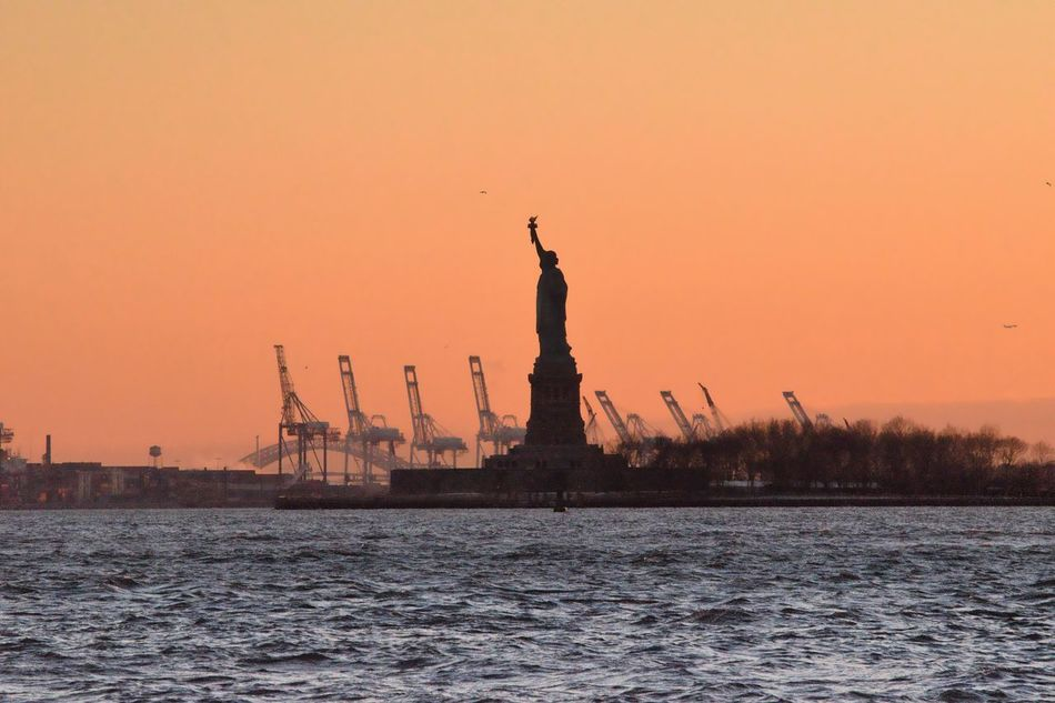 Beautiful stock photos of statue of liberty, Beauty In Nature, Capital Cities, Famous Place, Female Likeness
