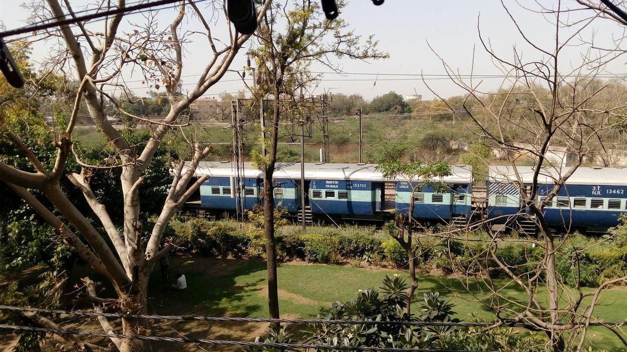 Train Park Delhi Travel Photography India
