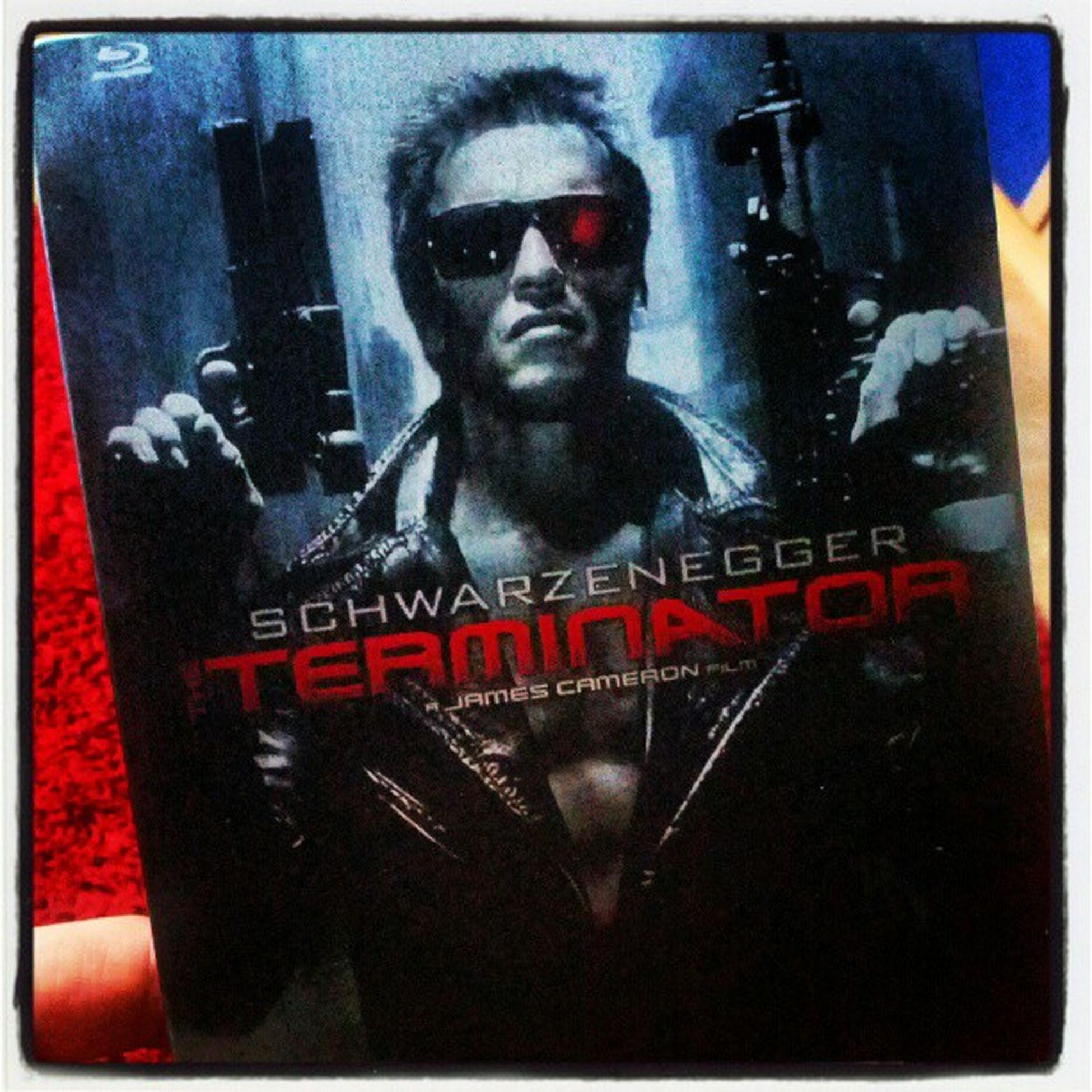 Thank you schwarzenegger for this #masterpiece of a #movie on #bluray in the #steelbook #edition. #i'll be #back. Now i am gonna #watch #it. MOVIE I Back Watch IT Masterpiece Edition Bluray Steelbook