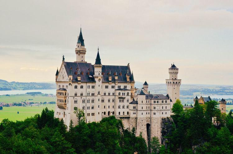 Architecture Outdoors Castle Neuschwanstein Germany Deutschland Travel Destination
