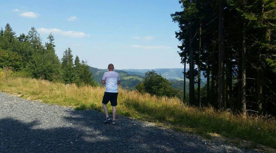 The Love Of My Life enjoying the Amazing View in Sauerland Germany - Fort Fun Sight Seeing Mountain Natures Best Pure Silence No Filter, No Edit, Just Photography Gorgeous
