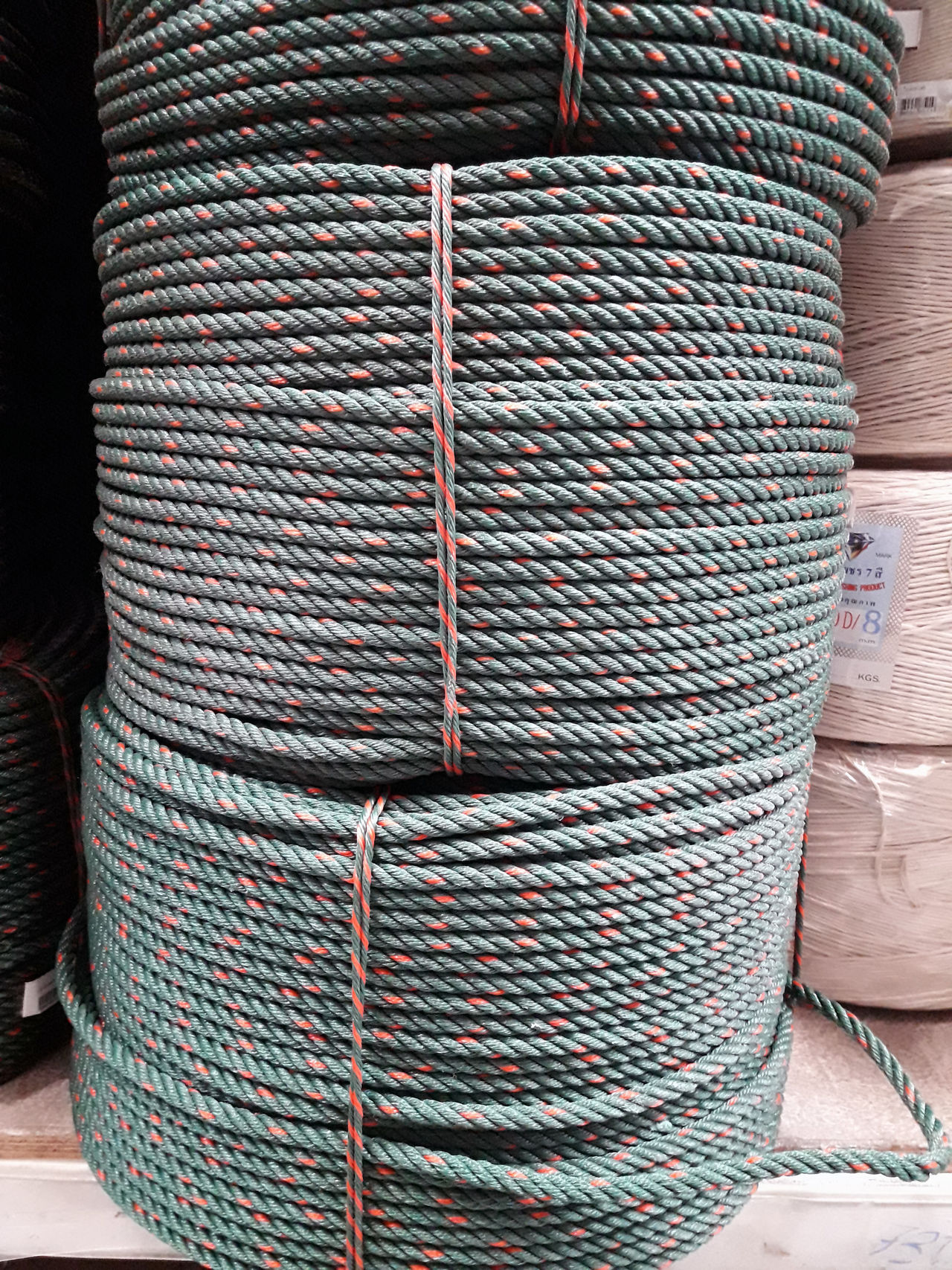 Close-up Goods Indoors  No People Product Rope Rope Roll Textile