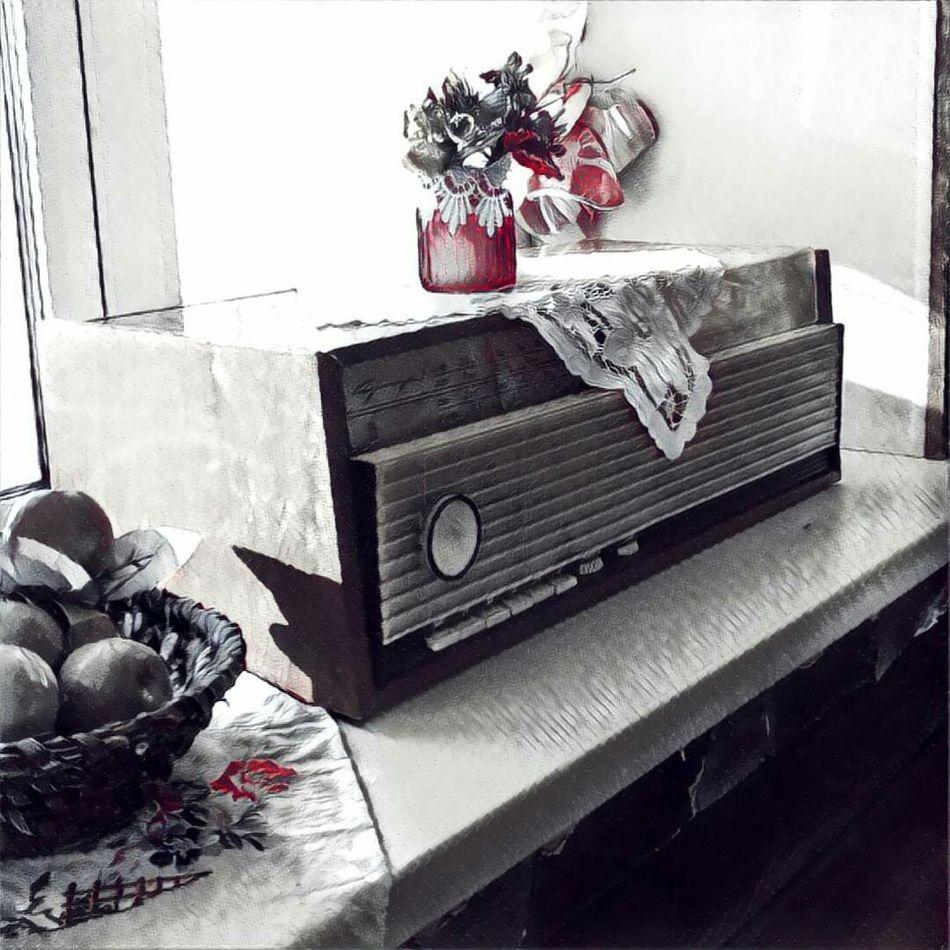 Day Decoracion Old Radio Cafe