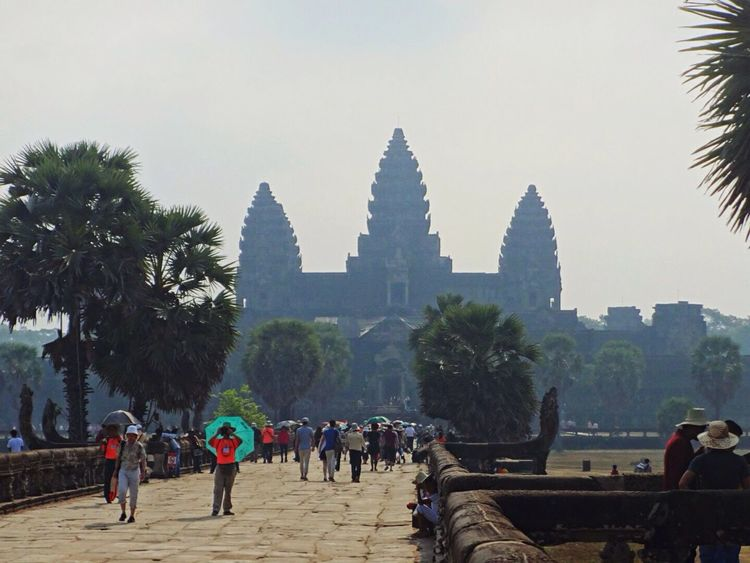 Angkor Wat Angkor Cambodia Temple Architecture Impressive Beautiful Traveling Travel Travel Photography Showcase: December Landmark Famous Place Historical Building Historic Eye4photography  EyeEm Best Shots Enjoying Life Taking Photos Hanging Out Hello World Check This Out