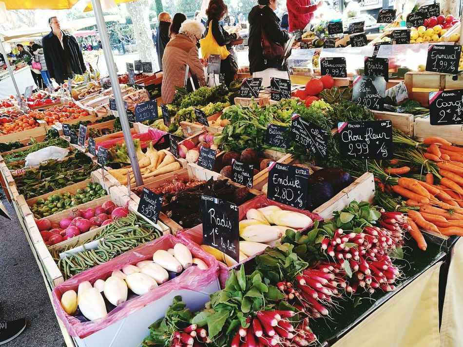 Food And Drink Market Sanary Sur Mer Freshness France Life Food Vegtables Fruit EyEmNewHere