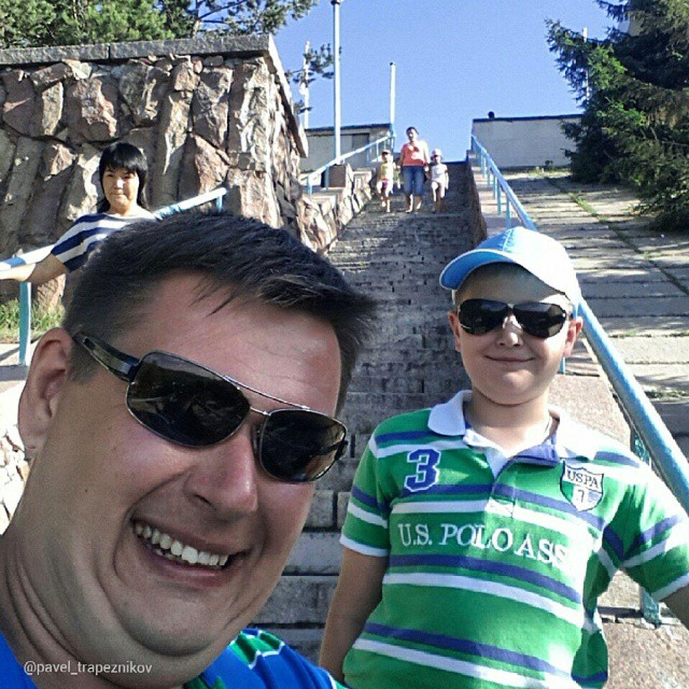 20140802 , Казахстан , алматы . медеу (Медео). Мы должны были подняться пешком на плотину Медеу! Это - традиция! 842 ступеньки - наши!/ Kazakhstan, Almaty. Medeu (Medeo). We had to make on foot ascent to the top of the dam Medeu! It's a tradition! 842 steps - ours!