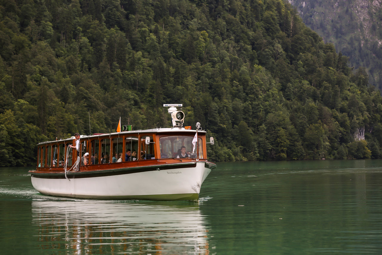 Boat Electric Boat German Germany Königssee Travel Travelling Water