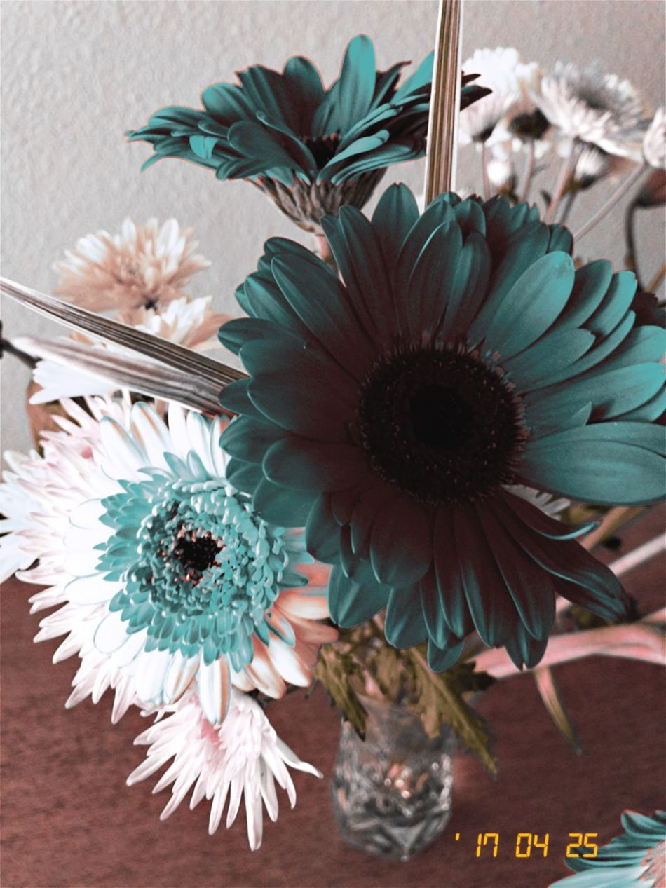 Flower Vase Table Indoors  No People Close-up Bouquet Flower Head Day Freshness