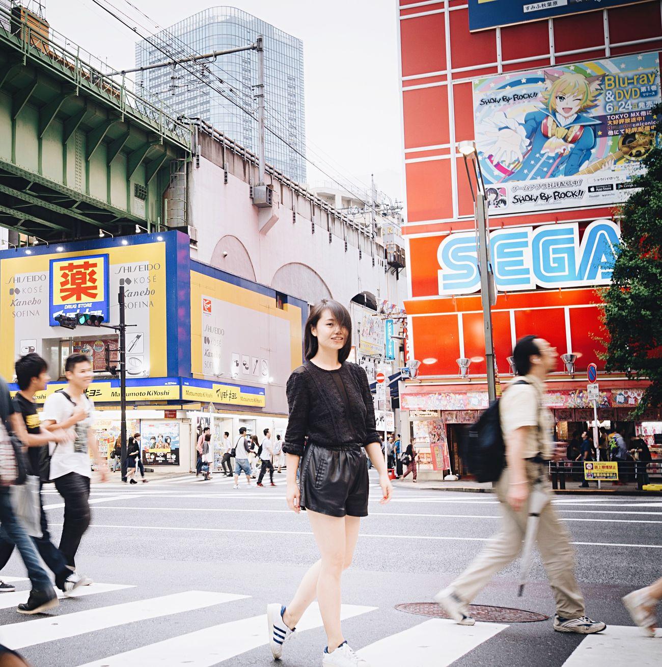 Promenade Akihabara Tokyo,Japan Allblacklook WIWT Ootd