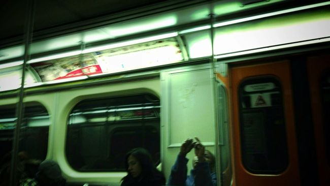 god of the underground Black Gold Nouseforaname / All A Blur The Underground Toronto Transit Snaps