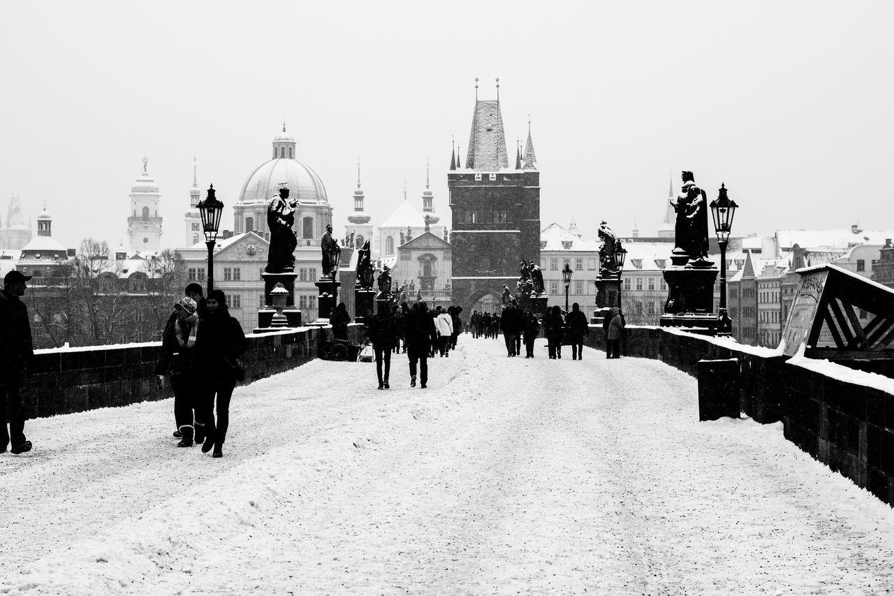 Beautiful stock photos of prague, Architecture, Art, Art And Craft, Bridge - Man Made Structure