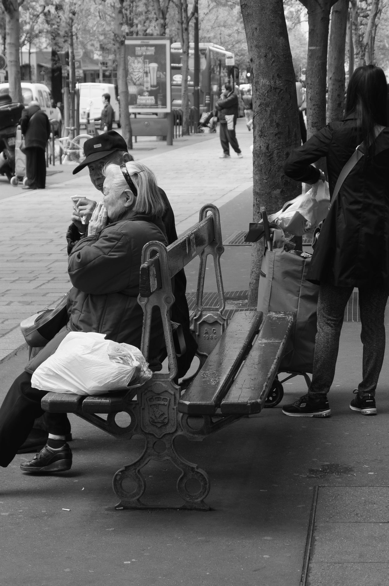 Black And White Black And White Collection! City Life Monochrome QuartierChinois Street Photography