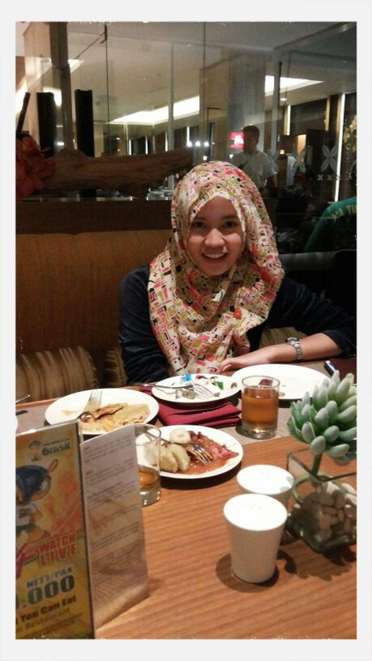 Baru sempet buka puasa bareng selama ramadhan :D Memories ❤ July Celebrate 4th