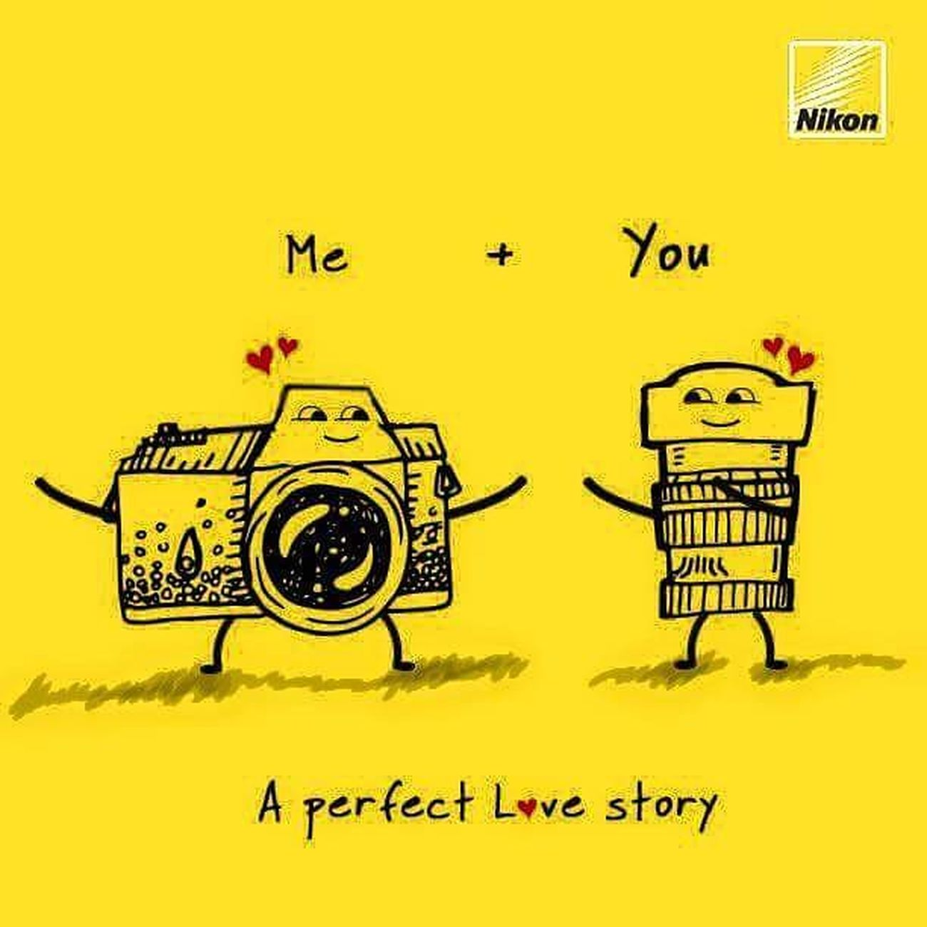 I want a relationship like this💓💗 Nikon💗 made for each other😘😍😍