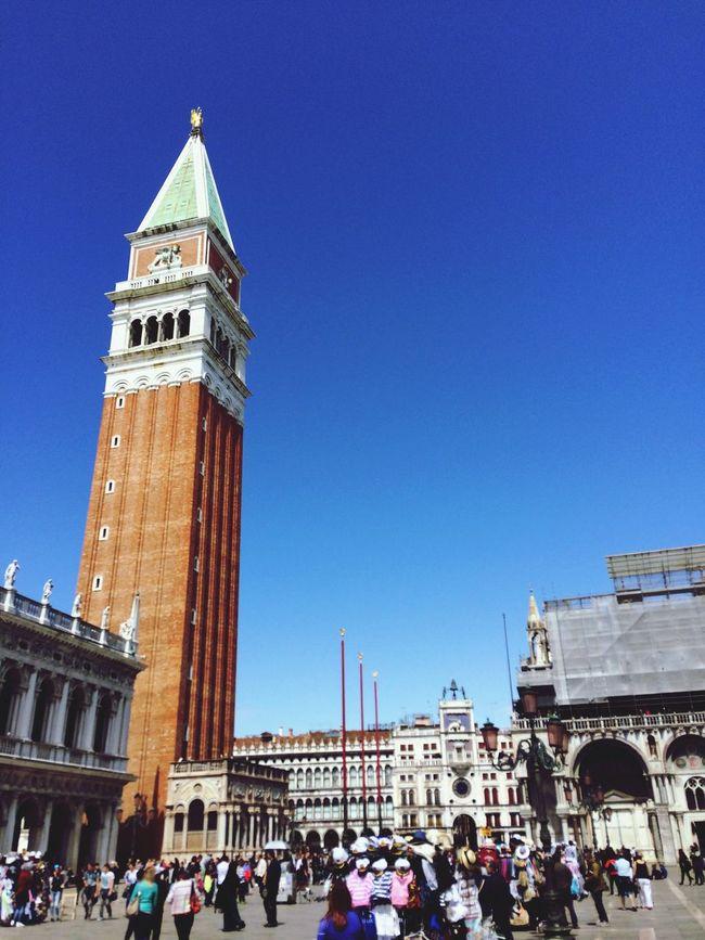 Taking Photos Enjoying Life Venice Italy Vacation Time