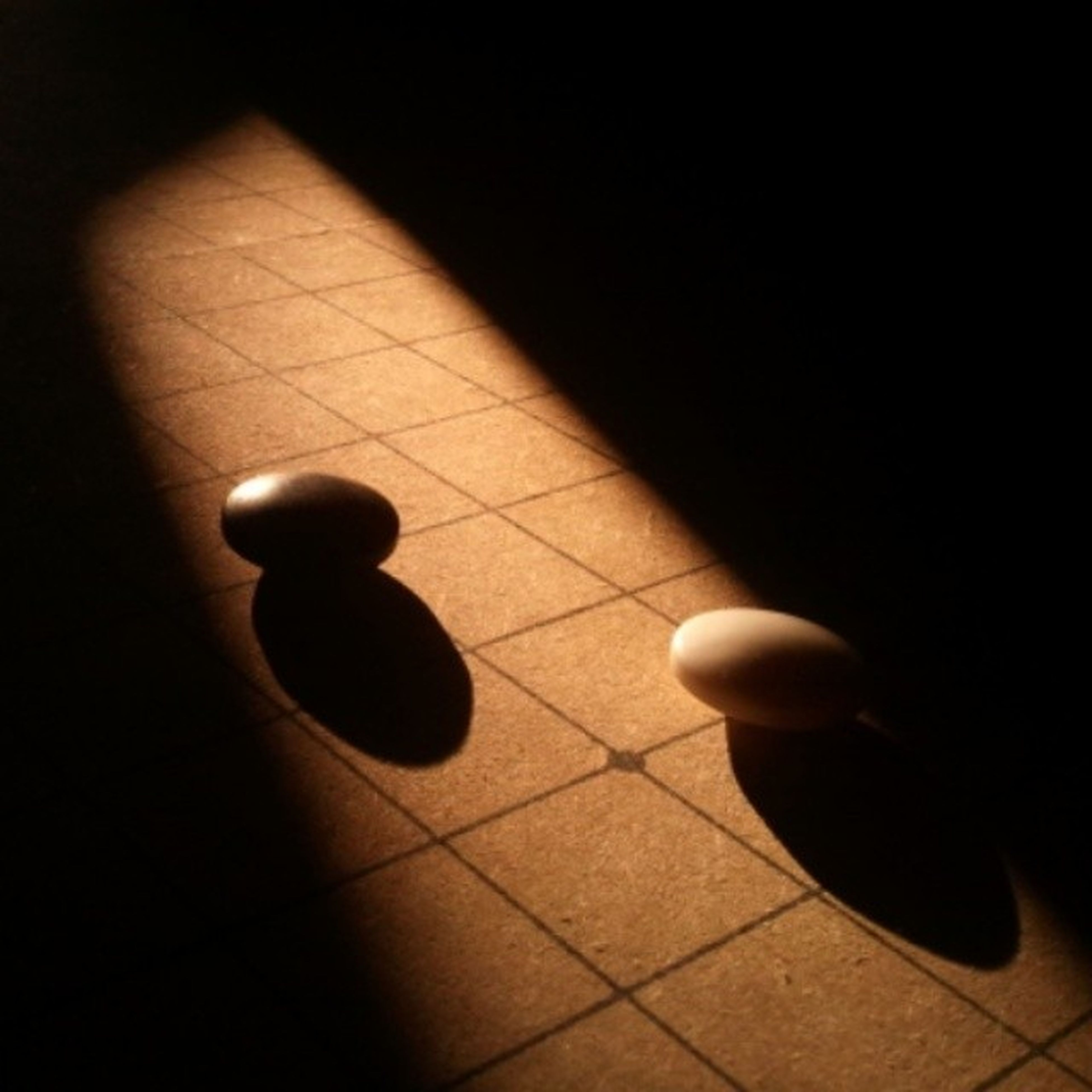 indoors, tiled floor, flooring, shadow, high angle view, floor, sunlight, hardwood floor, no people, tile, wall - building feature, pattern, empty, home interior, paving stone, table, copy space, night, absence, still life