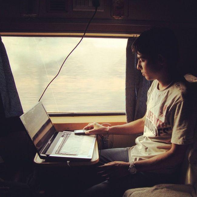 Instagram Insta Indian Mannish Boy Train Awesome Manishbagari