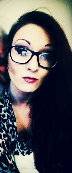 Beautiful Woman Eyeglasses  Distorted Reality ™ In The Flesh Young Women Last Of A Dying Breed Classyglasses
