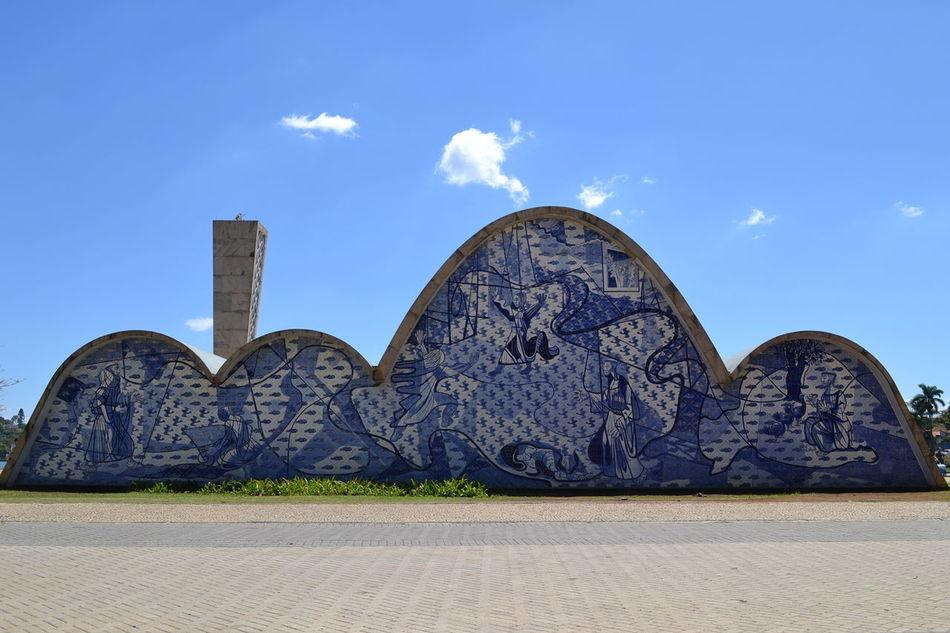 Blue Tranquility Igreja Pampulha Igrejasaofrancisco Sunlight Architecture Arch Famous Place Monument Pampulha