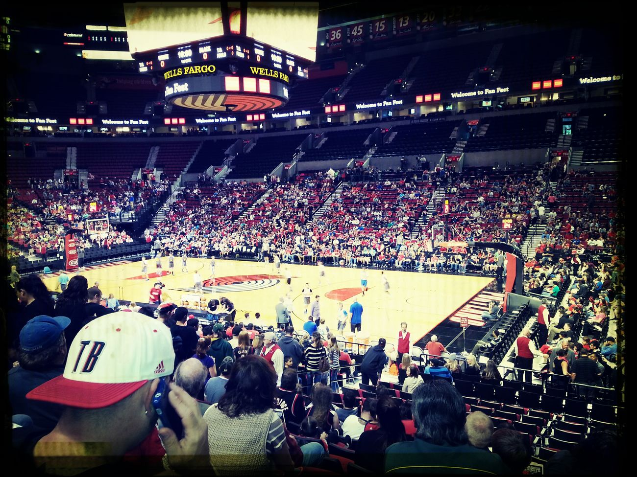Portland Trail Blazers Ripcity Basketball Game