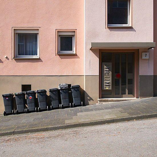 Latergram Hagengermany Hagenwestfalen Hagen Mülltonnen Ordnungmusssein Eppenhausen Westfalen