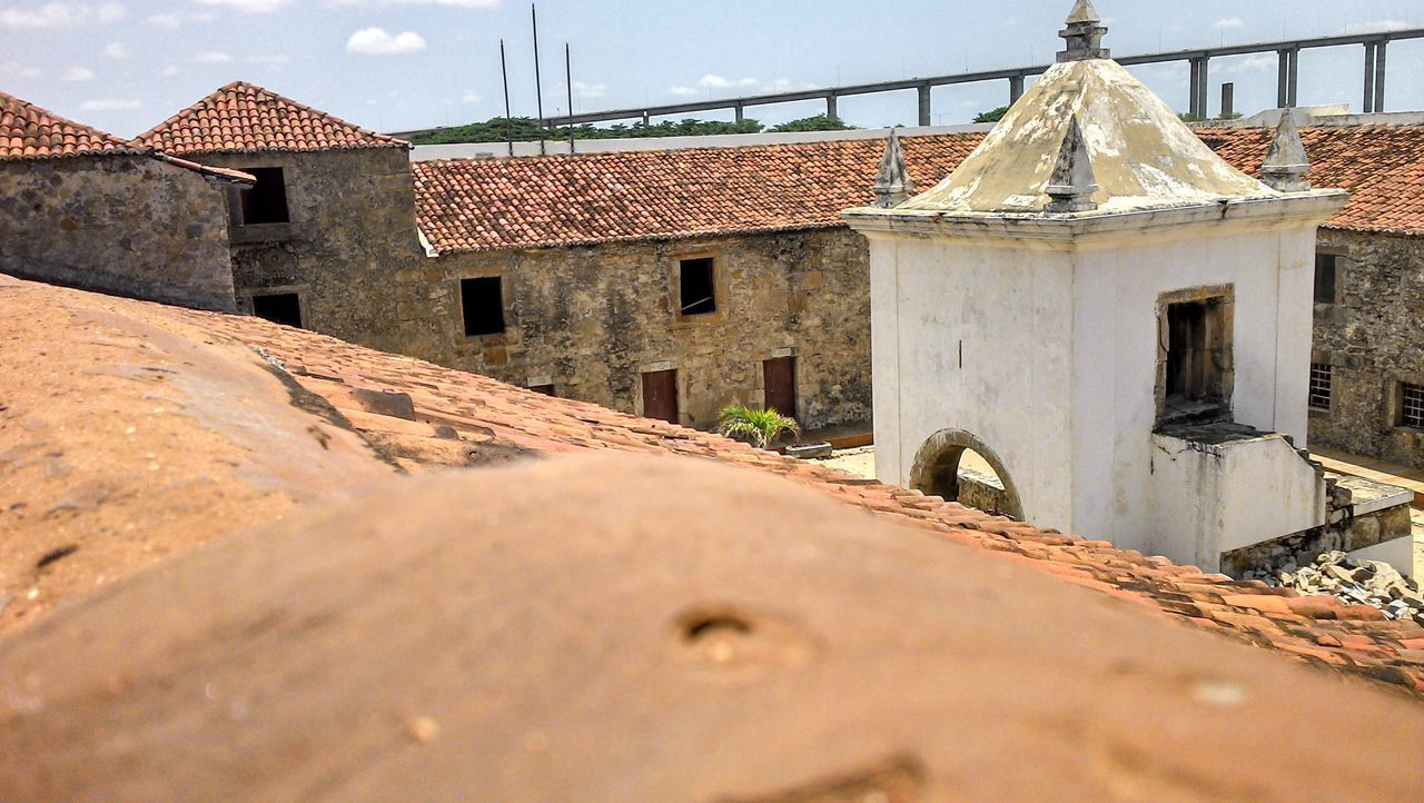Forte dos 3 reis magos Architecture Building Exterior Built Structure Colors Day Historic Historical Building History No People Outdoors Sky