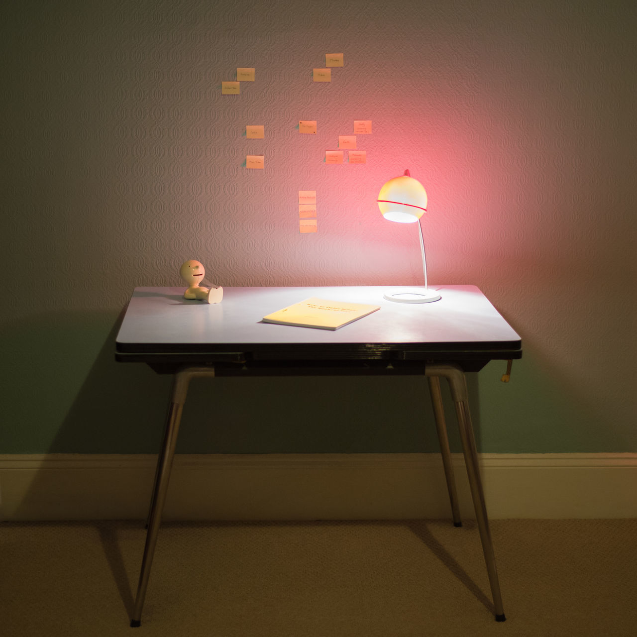 Beautiful stock photos of table, Adhesive Note, Color Image, Desk, Illuminated