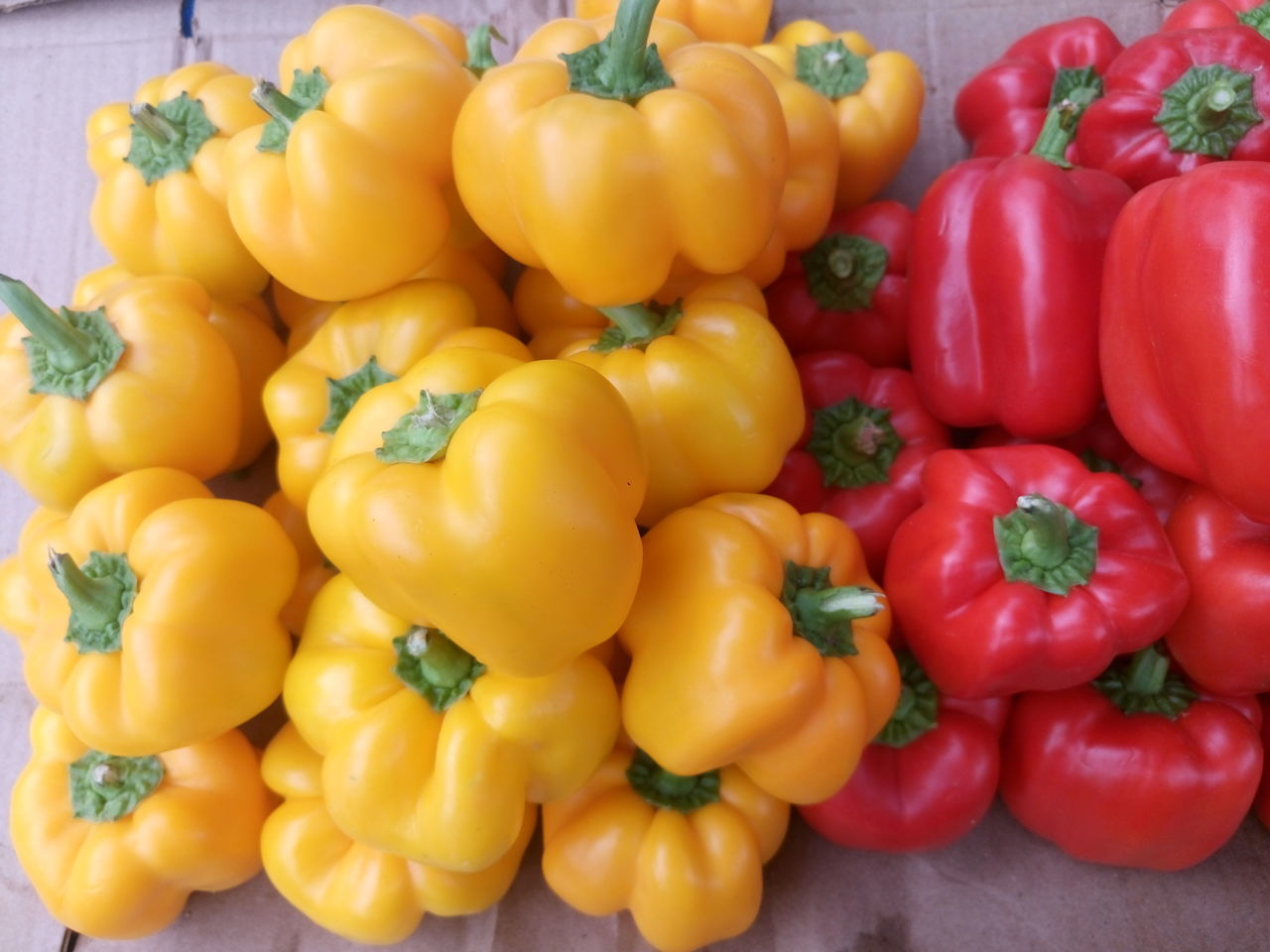 Abundance Backgrounds Bell Pepper Choice Close-up Food For Sale Freshness Full Frame Healthy Eating Large Group Of Objects Market Market Stall No People Organic Raw Food Red Red Bell Pepper Red Chili Pepper Retail  Still Life Tomato Variation Vegetable Yellow Bell Pepper