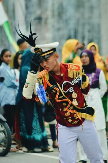 Major Genta Bintama Drumband vintage boys sexylips taruna highschool First Eyeem Photo