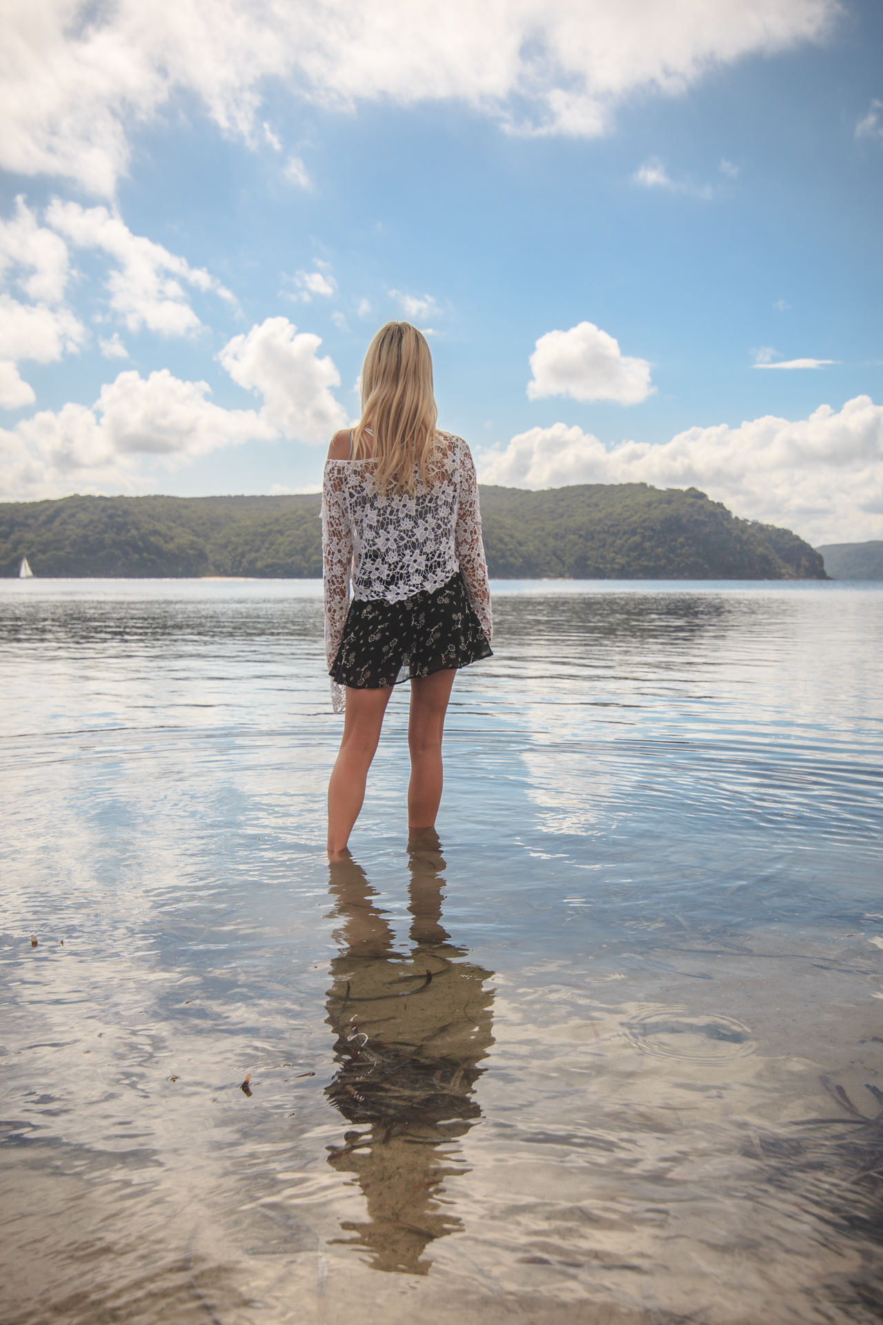 Beautiful stock photos of sydney, Ankle Deep In Water, Australia, Casual Clothing, Cloud - Sky