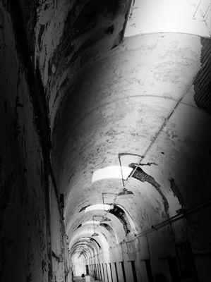 blackandwhite at Eastern State Penitentiary by Christimes