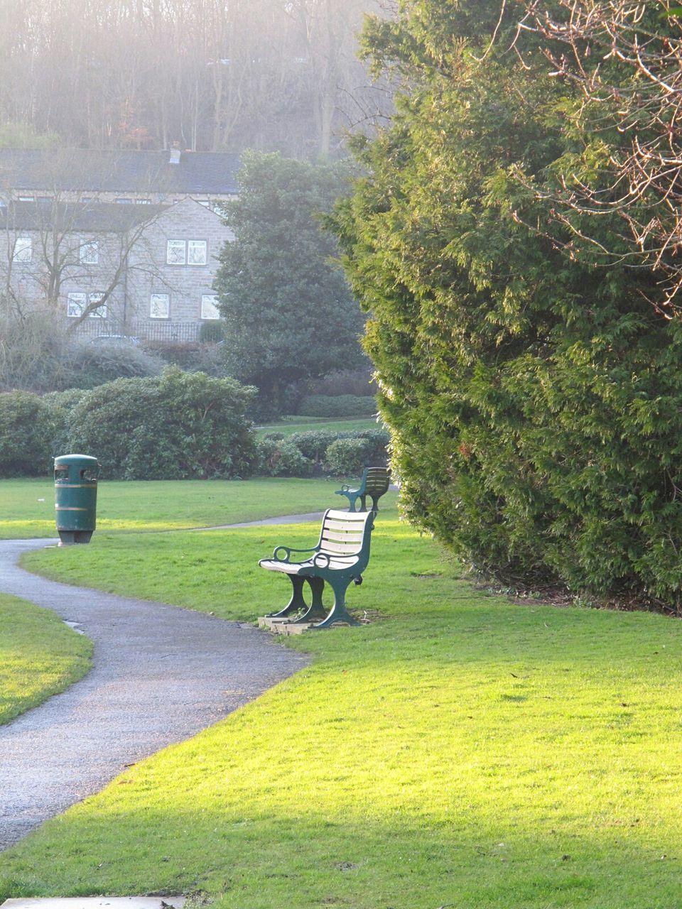 View Of Empty Park