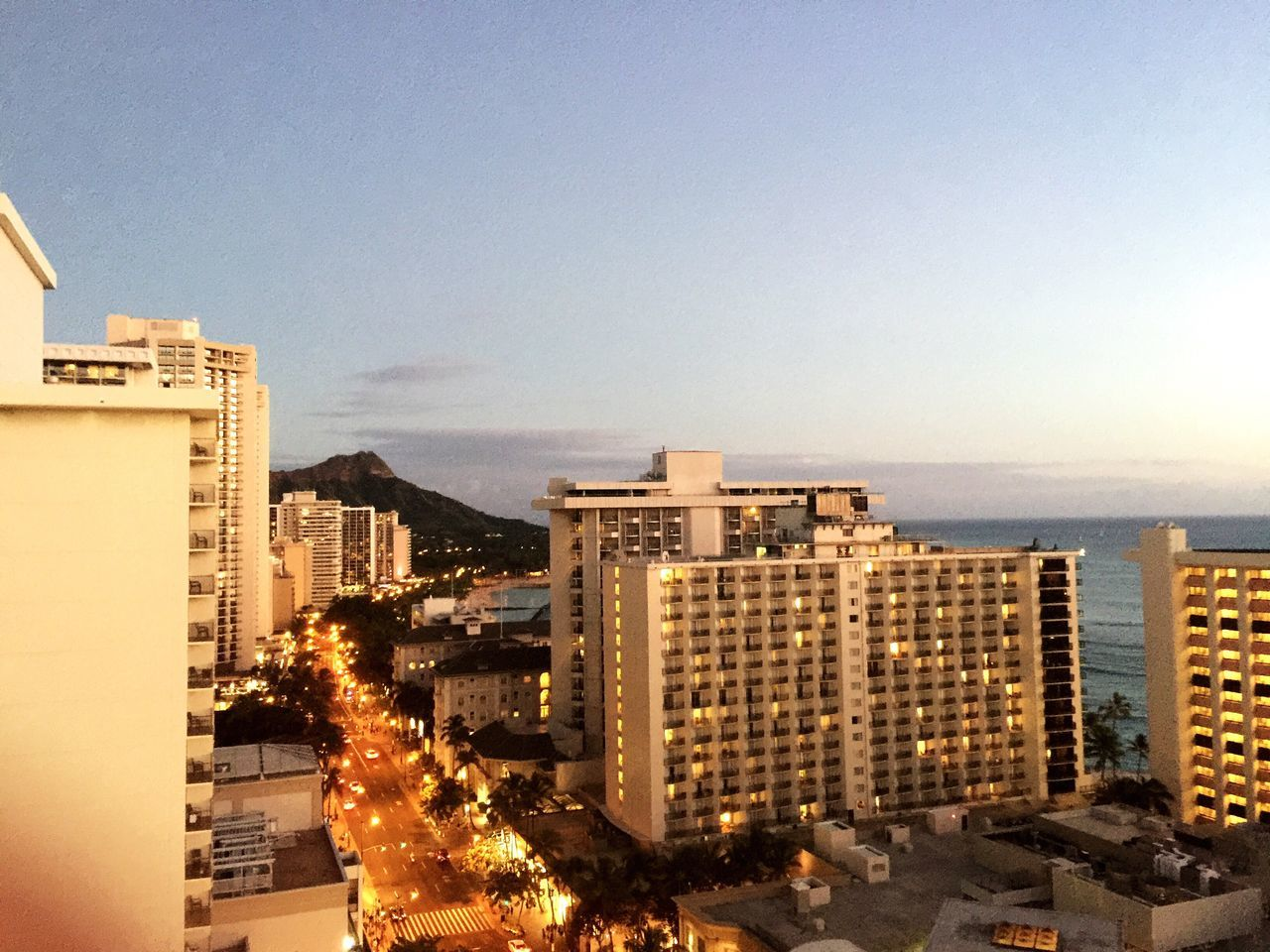 Waikīkī Beach and Diamond Head