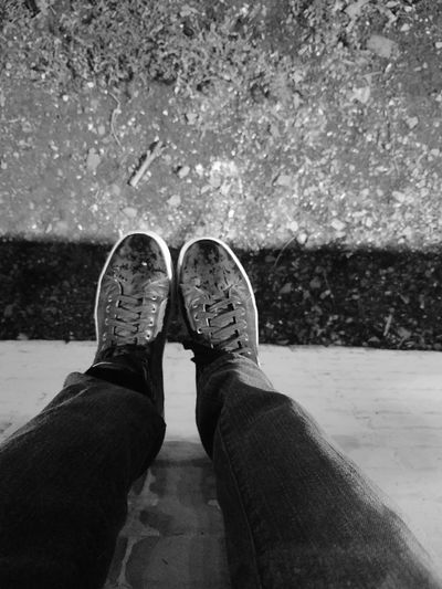 just hanging my feet Outdoors Night Photography Fairground Fashion Clothing Phone Photography High Angle View Human Body Part Breathing Space Investing In Quality Of Life The Week On EyeEm