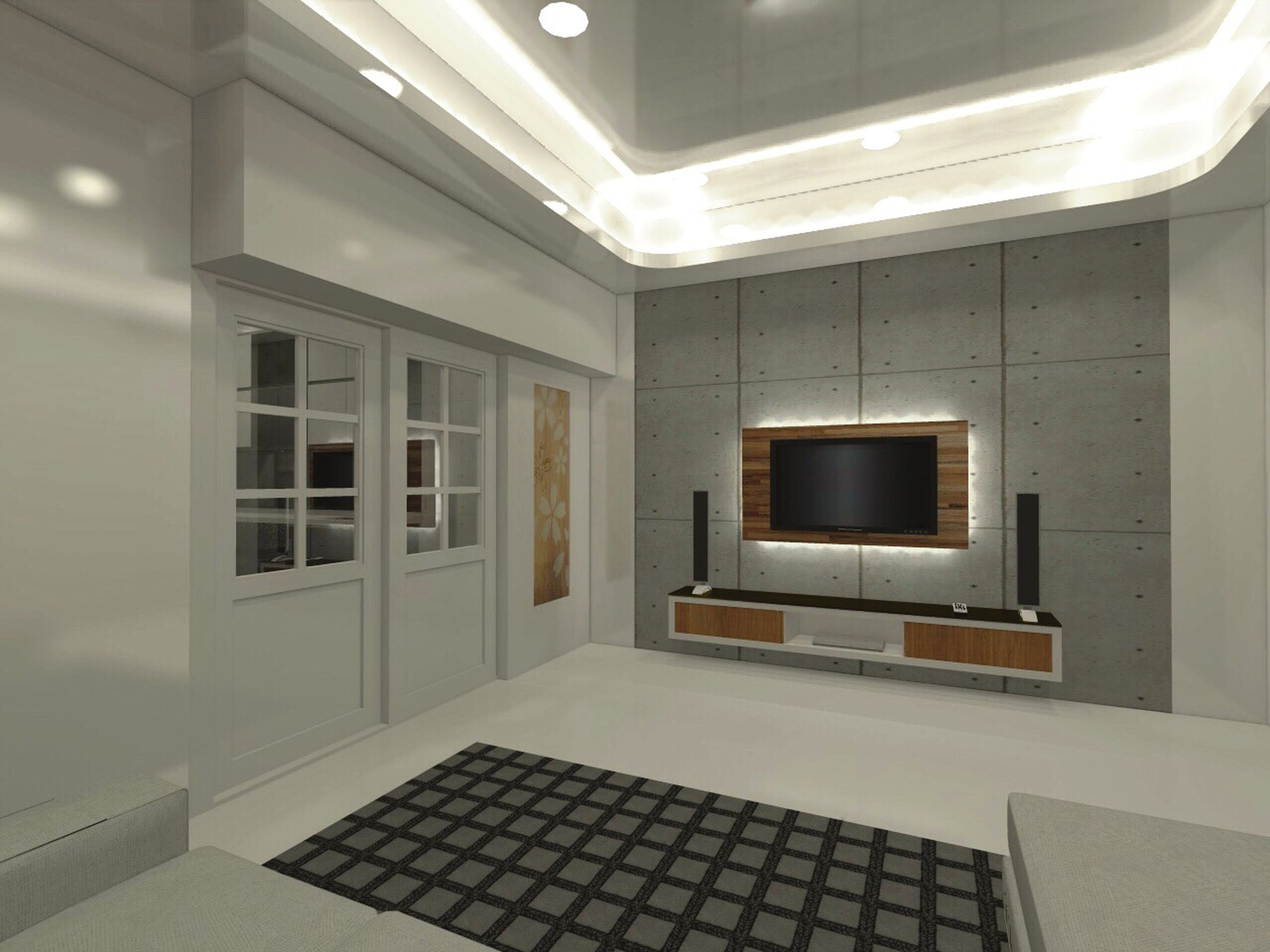 indoors, technology, no people, illuminated, architecture, day, home showcase interior